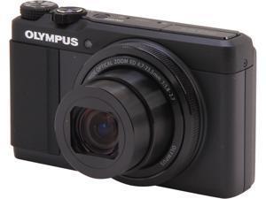 OLYMPUS Stylus XZ-10 V101030BU000 Black 12 MP Digital Camera HDTV Output
