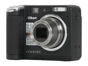 Nikon Coolpix P50 Black 8.1 MP 28mm Wide Angle Digital Camera