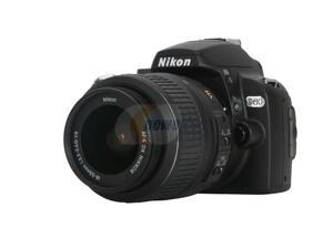 Nikon D60 Black Digital SLR Camera w/ AF-S DX NIKKOR 18-55mm f/3.5-5.6G VR Lens