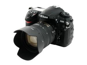 Nikon D200 Black Digital SLR Camera w/ AF-S DX Zoom-Nikkor ED 18-70 mm f/3.5-4.5G IF Lens