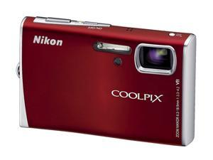 Nikon Coolpix S52 Red 9.0 MP Digital Camera