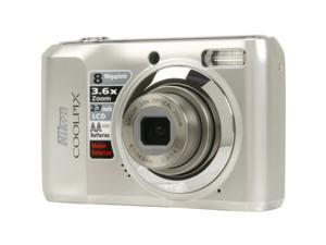 Nikon COOLPIX L19 Smooth Silver 8.0 MP Digital Camera