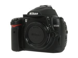 Nikon D5000 Black Digital SLR Camera - 720p Movie - Body Only