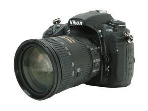 Nikon D300S Black DX Format Digital SLR Camera w/ AF-S NIKKOR 18-200mm f/3.5-5.6G II ED Lens