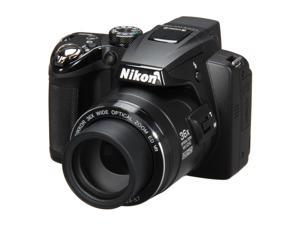 Nikon COOLPIX P500 Black 12.1 MP Wide Angle Digital Camera