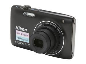 Nikon COOLPIX S3100 Black 14.0 MP Digital Camera