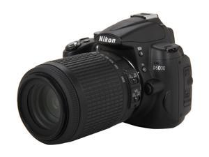 Nikon D5000 Black Digital SLR Camera w/AF-S DX NIKKOR 55-200mm f/4-5.6G VR Lense