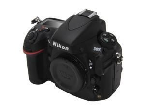 Nikon D800 (25480) Black Digital SLR Camera - Body Only