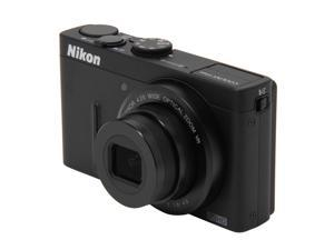 Nikon Coolpix P310 26320 Black 16.1 MP 24mm Wide Angle Digital Camera HDTV Output