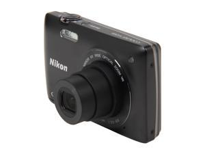 Nikon Coolpix S4300 Black 16 MP 26mm Wide Angle Digital Camera