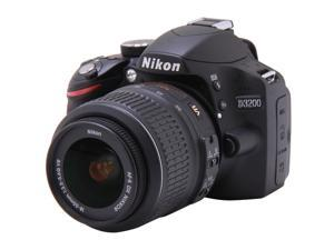 Nikon D3200 Black Digital SLR with 18-55mm f/3.5-5.6 AF-S DX VR NIKKOR Zoom Lens