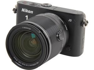 Nikon 1 J3 (27657) Black Advanced Camera with 10-100mm Lens