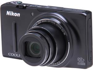 Nikon COOLPIX S9500 26418 Black 18.1 MP Digital Camera