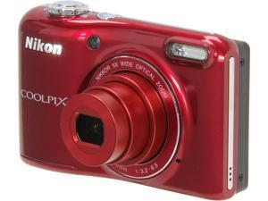 Nikon Coolpix L28 Digital Camera - Red