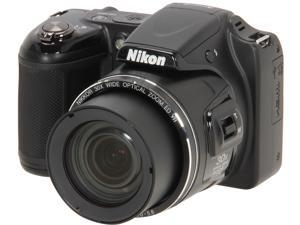 Nikon COOLPIX L820 26402 Black 16 MP 30X Optical Zoom Digital Camera