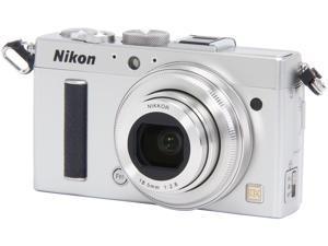 Nikon COOLPIX A 26424 Silver 16.2 MP 28mm Wide Angle Digital Camera