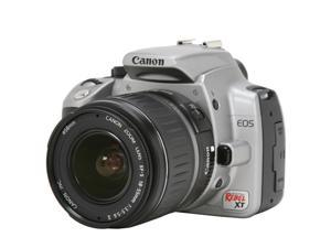 Canon Digital Rebel XT Silver Digital SLR Camera w/EF-S 18-55mm f/3.5-5.6 II Lens