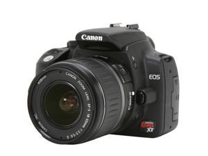 Canon Digital Rebel XT Black Digital SLR Camera w/EF-S 18-55mm f/3.5-5.6 II Lens