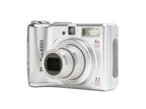 Canon PowerShot A550 Silver 7.1 MP Digital Camera