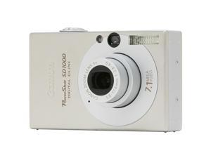 Canon PowerShot SD1000 Silver 7.1 MP Digital Camera