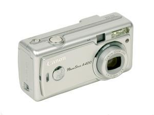 Canon PowerShot A400 Silver 3.2MP Digital Camera