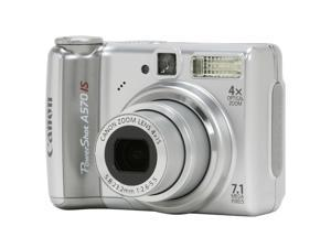 Canon PowerShot A 570 IS Silver 7.1 MP Digital Camera
