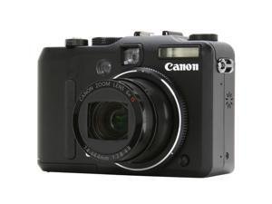 Canon PowerShot G9 Black 12.1 MP Digital Camera