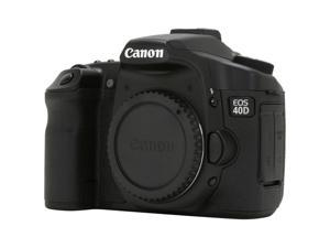Canon EOS 40D Black Digital SLR Camera - Body Only