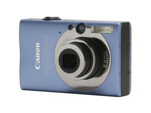 Canon PowerShot SD1100 IS 2512B001 Blue 8.0 MP Digital Camera