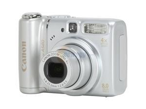 Canon PowerShot A580 Silver 8.0 MP Digital Camera