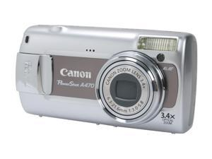 Canon PowerShot A470 Gray 7.1 MP Digital Camera