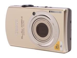 Canon PowerShot SD880 IS 2672B001 Gold 10 MP 28mm Wide Angle Digital Camera