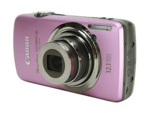 Canon PowerShot SD980 IS Purple 12.1 MP 24mm Wide Angle Digital Camera