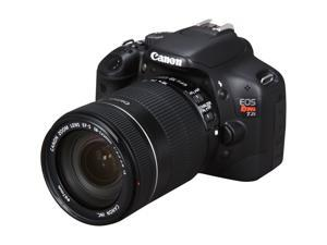 Canon EOS Rebel T2i Black Digital SLR Camera w/ EF-S 18-135mm f/3.5-5.6 IS Lens