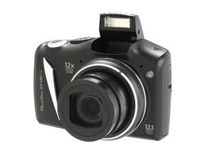 Canon SX130 IS Black 12.1 MP 28mm Wide Angle Digital Camera