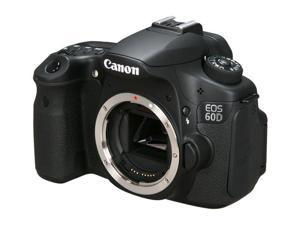Canon EOS 60D 4460B003 Black Digital SLR Camera - Body Only