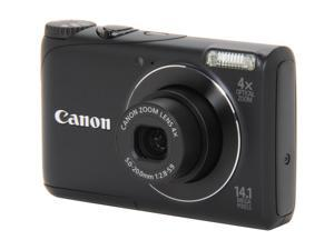 Canon A2200 Black 14.1 MP 28mm Wide Angle Digital Camera