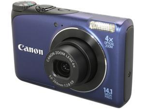 Canon A2200 Blue 14.1 MP 28mm Wide Angle Digital Camera