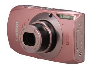 Canon ELPH 500 HS Pink 12.1 MP 24mm Wide Angle Digital Camera