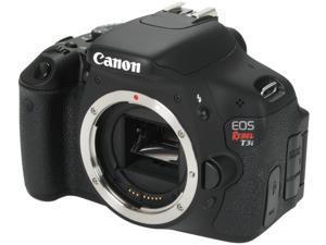 Canon EOS REBEL T3i Black Digital SLR Camera (Body Only)