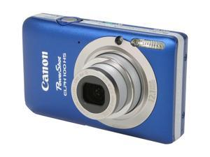 Canon Elph 100 HS Blue 12.1 MP 28mm Wide Angle Digital Camera