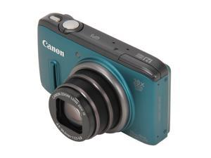 Canon PowerShot SX260 HS 6196B001 Green 12.1 MP 25mm Wide Angle Digital Camera HDTV Output