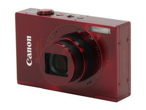 Canon ELPH 520 HS 6171B001 Red 10.1 MP 28mm Wide Angle Digital Camera HDTV Output