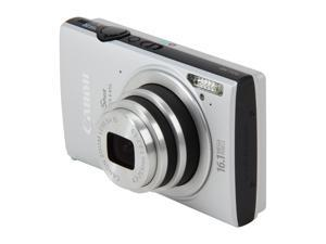 Canon ELPH-320 Silver 16 MP 24mm Wide Angle Digital Camera