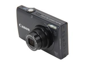 Canon PowerShot A3400 IS 6185B001 Black 16 MP 28mm Wide Angle Digital Camera