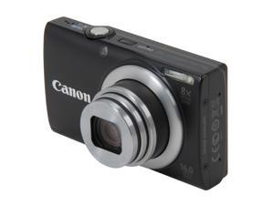 Canon PowerShot A4000 IS 6149B001 Black 16.0 MP 28mm Wide Angle Digital Camera