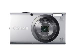 Canon PowerShot A2300 6184B001 Silver 16.0 MP 28mm Wide Angle Digital Camera