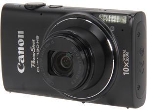 Canon PowerShot ELPH 330 HS 8206B001 Black 12.1 MP 24mm Wide Angle Digital Camera