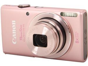 Canon PowerShot ELPH 115 IS 8608B001 Pink 16 MP 28mm Wide Angle Digital Camera