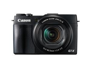 Canon PowerShot G1 X Mark II 9167B001 Black 12.8 MP 24mm Wide Angle Digital Camera